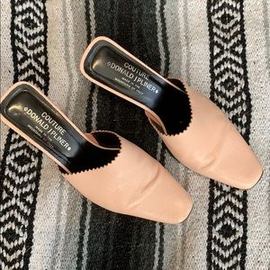Couture Donald J Pliner Pink Mules